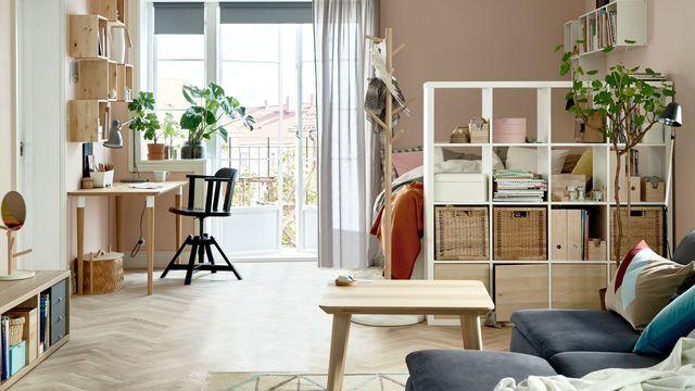 Cloison Amovible Cloison Coulissante Meuble Cloison Paravent Soggiorno Per Piccolo Appartamento Soggiorno Ikea Appartamenti Piccoli