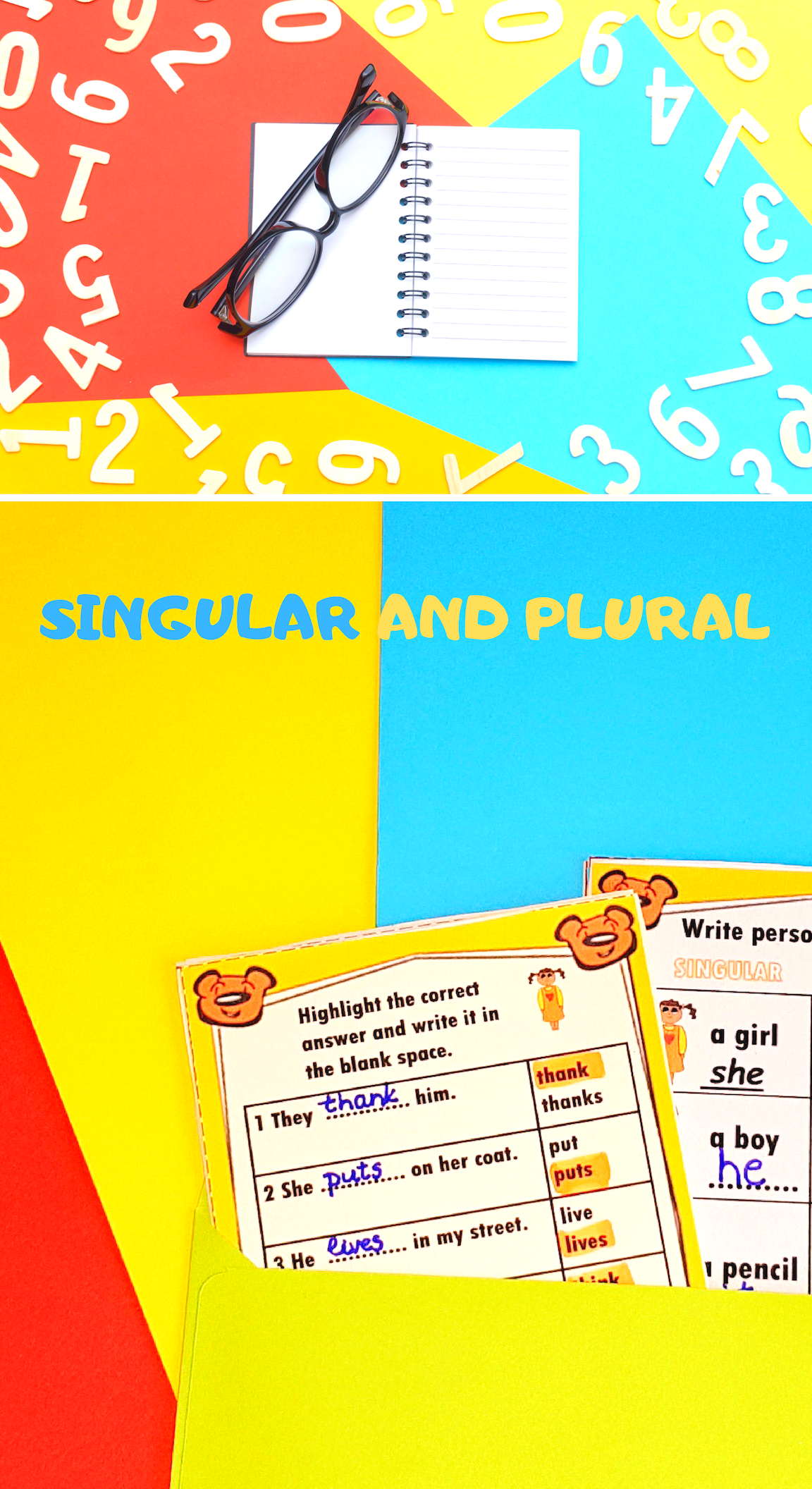 Singular And Plural Subject And Verb Subject Verb Agreement Plurals [ 2112 x 1152 Pixel ]