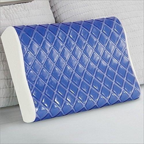 Medium Memory Foam Cooling Bed Pillow Foam Pillows Contour
