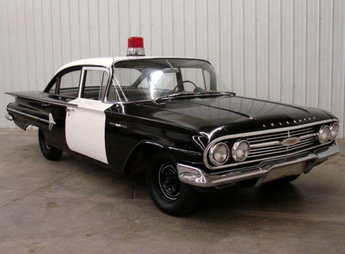 1960 Chevrolet Bel Air Chevrolet Bel Air Police Cars Old