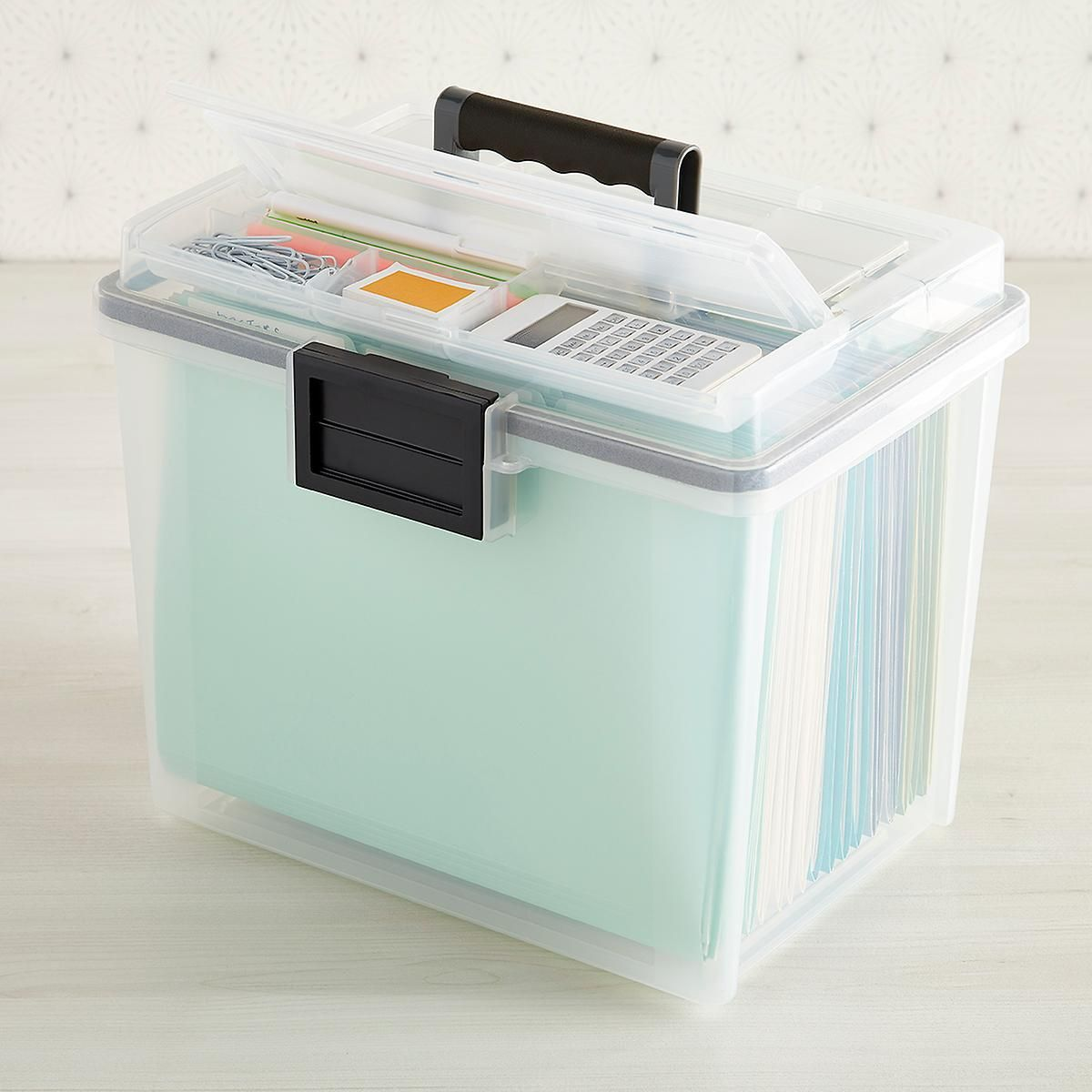 For business or personal files, our Weathertight Portable