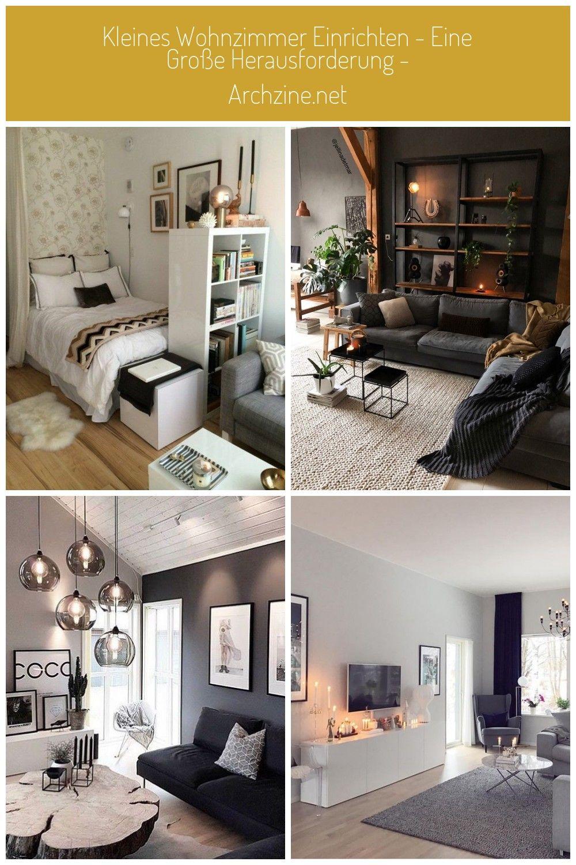 Kleines Wohnzimmer einrichten vielleicht glauben Sie nicht ...