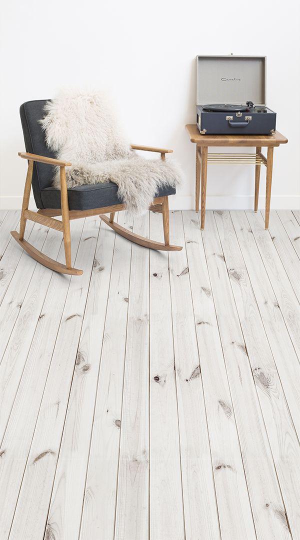 Scandi Style Wood Vinyl Flooring | floors | Pinterest | Flooring ...