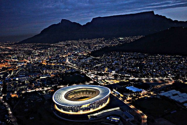 Cape Town Stadium - Night | Cape Town | Cape town south ...