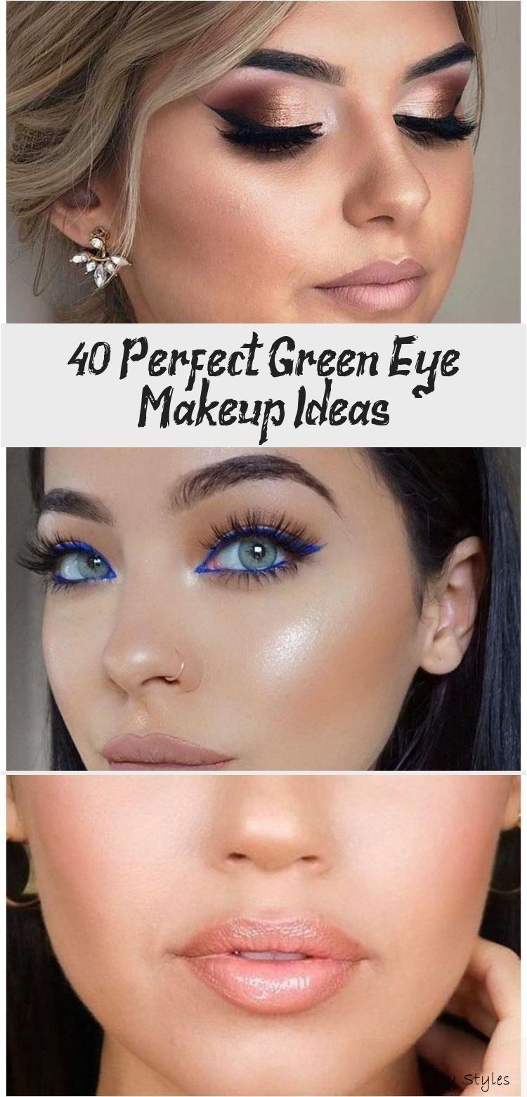 40+ Perfect Green Eye Makeup Ideas - Eye Makeup