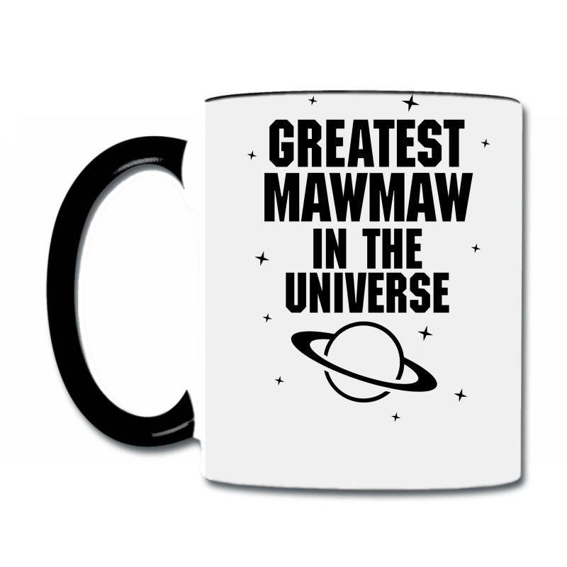 greatest mawmaw in the universe black print Coffee & Tea Mug