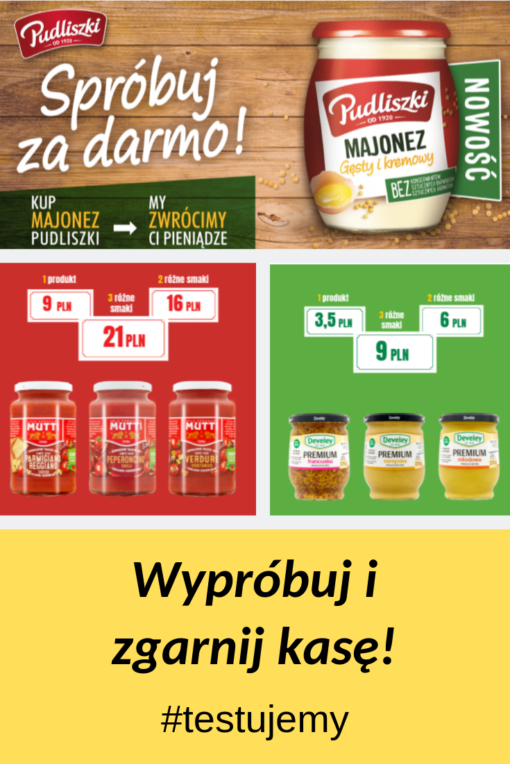Az Trzy Testy Produktow Mutti Develey Pudliszki Salsa Food Jar