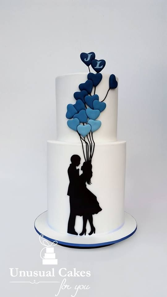 This Cake Is Really Nice And Can Have A Different Silhouette For Any  Occasion And Still Have The Stunning Ombre