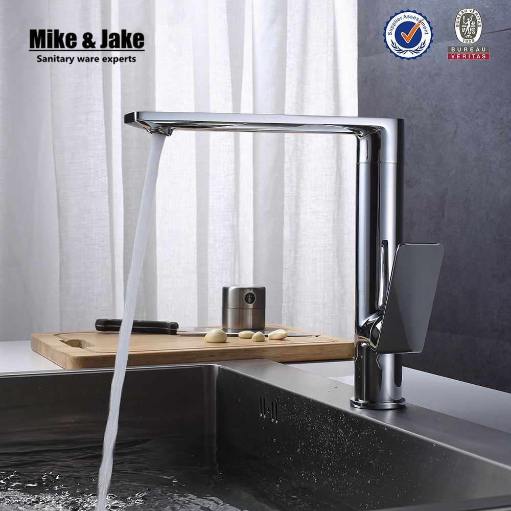 360 Rotating Chrome Contemporary Kitchen Faucets Basin Sink Brass Delectable Designer Kitchen Faucet Inspiration