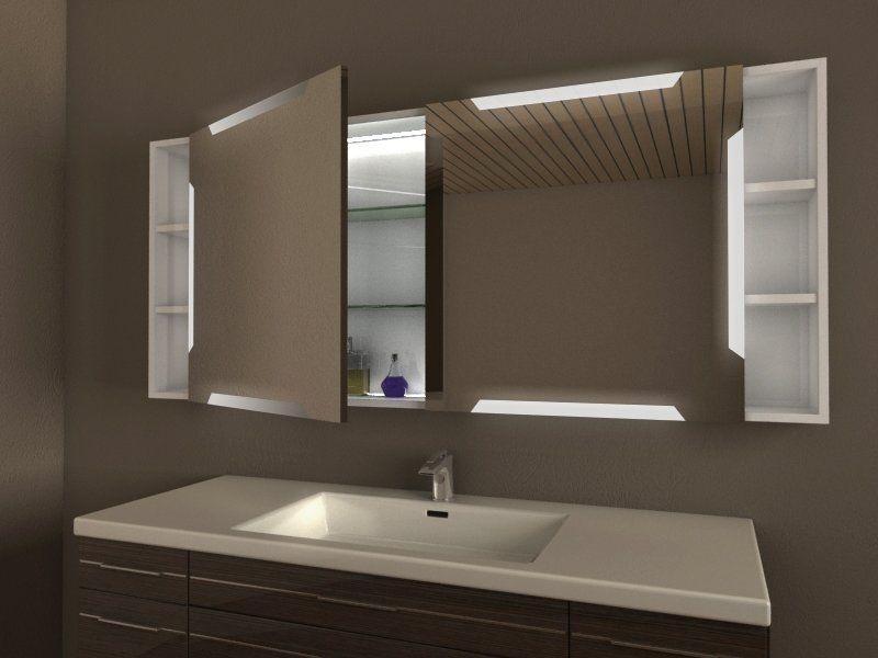 Spiegelschrank Badezimmer, Unterputz/Einbau möglich ...