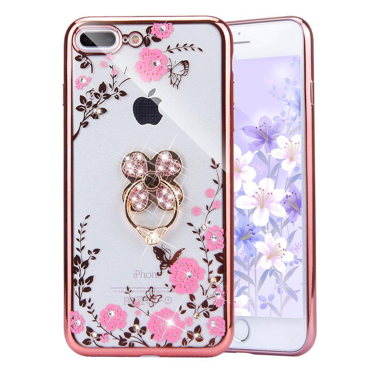 newest a2d27 e5e84 Amazon.com: iPhone 7 Plus Case, PHEZEN iPhone 7 Plus TPU Case Luxury ...