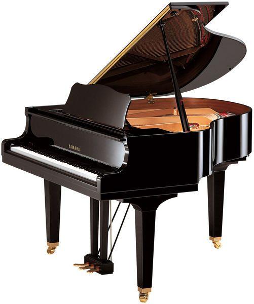 Yamaha Gb1 K Black Polished Piano Acustico Piano De Cola Piano