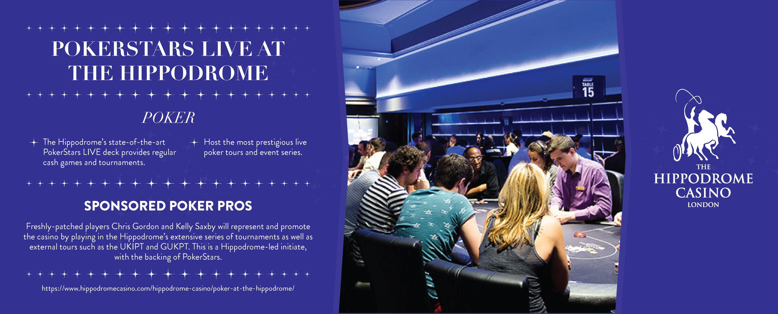 Hippodrome Poker Schedule