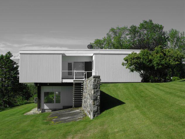 Starkey House 1955 Marcel Breuer Architecture Contemporaine