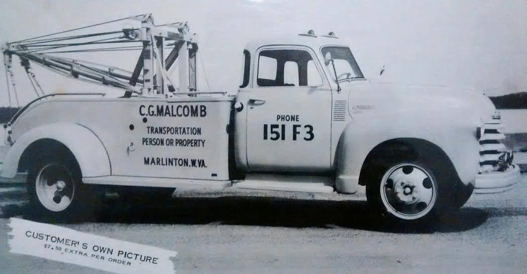 Holmes 515 Wrecker Boom With Service Body Wrecker Classic Cars Trucks Old Trucks