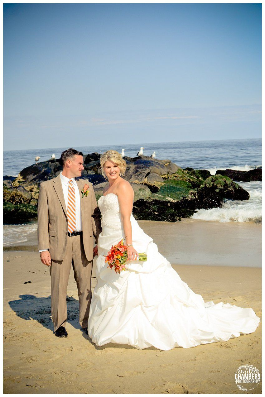 Jersey S Beach Wedding