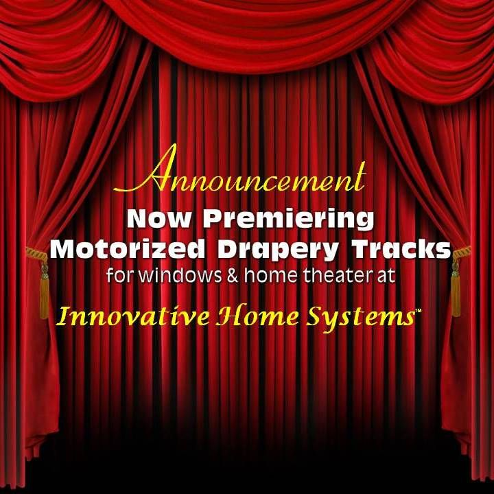 Single Or Dual Track Motorized Drapery Tracks From Curtain Call