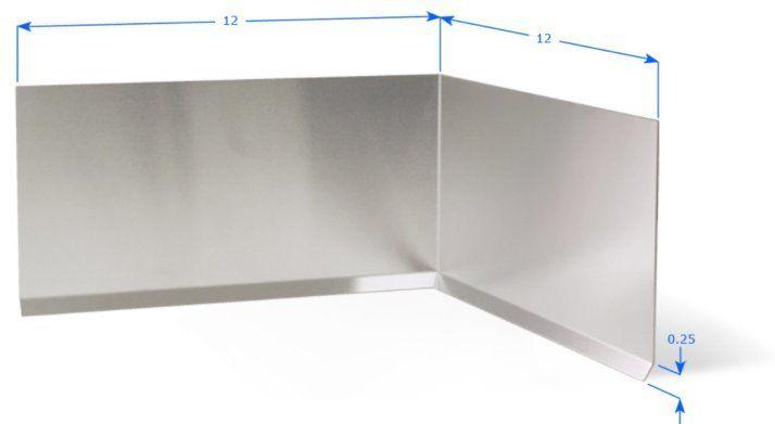 Elite Garage Floors Inside Corner Stainless Steel 22 Ga Choose