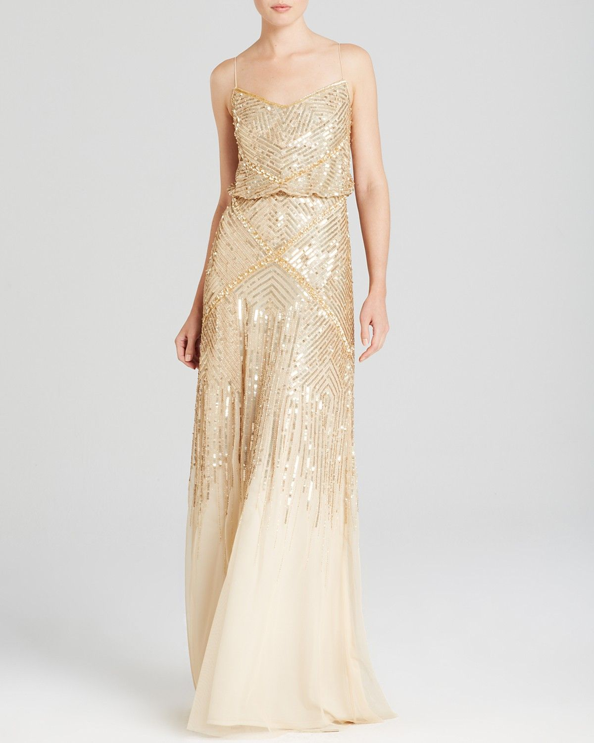 Adrianna papell sleeveless beaded blouson gown bloomingdales adrianna papell sleeveless beaded blouson gown bloomingdales exclusive bloomingdales ombrellifo Images