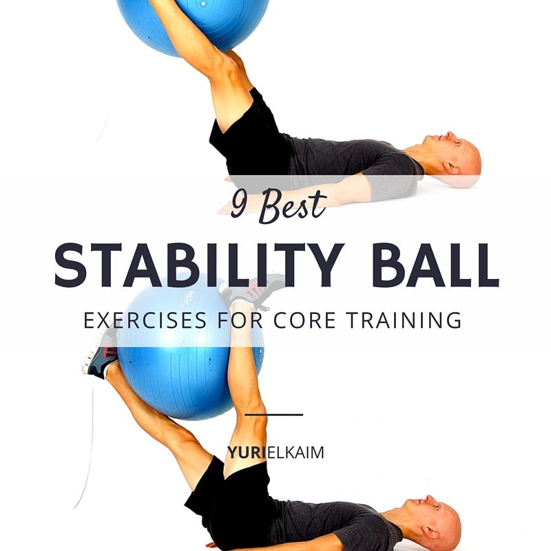 Stability Ball Core Exercises