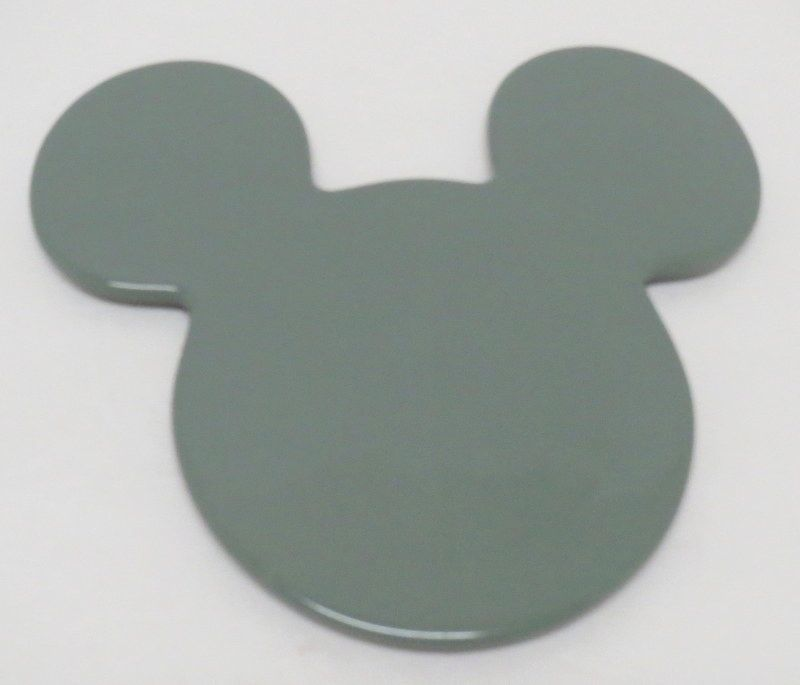 Disney Mickey Mouse Icon Trivet Hot Plate Green