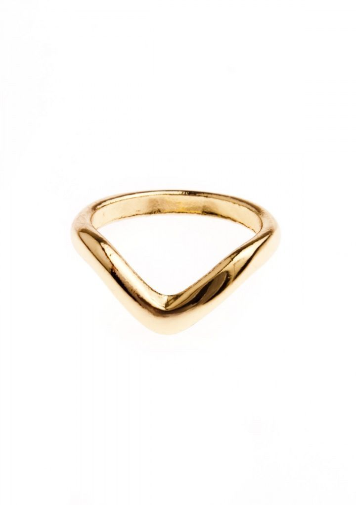 Chic Midi Ring In Gold #fashion #delicate #gold #rings - 12,90  @happinessboutique.com