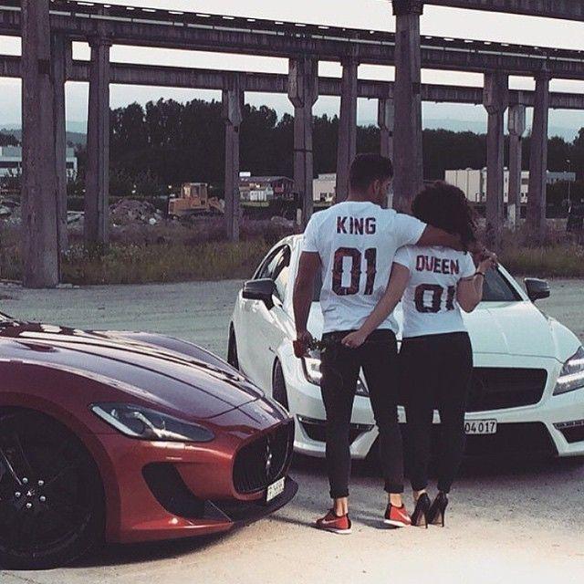 king and queen matching shirts want more cute relationship goals rh pinterest com