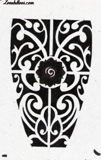 Diseno De Maories Rosas De Borneo Tatto Opciones Pinterest - Fotos-de-maories