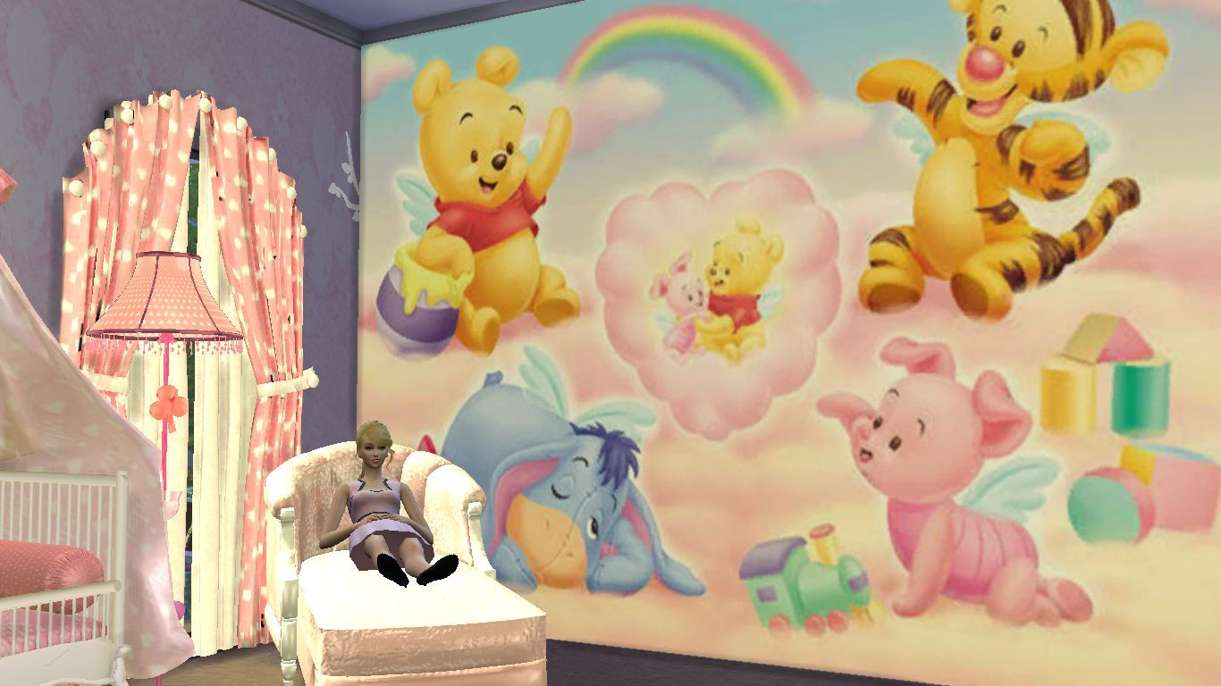 Pooh Downloaded Nursery Furniture Sets Sims 4 Sims 4
