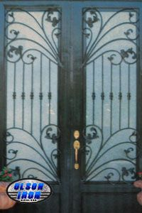 Olson Iron Doors Another Awesome Job By Olson Iron Olsoniron