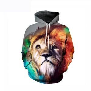 Hot Selling Mens Sweatshirt Oneck Type with 3D Printed