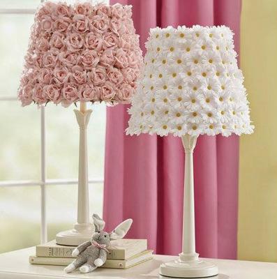 Fake Flower Lamp Shade