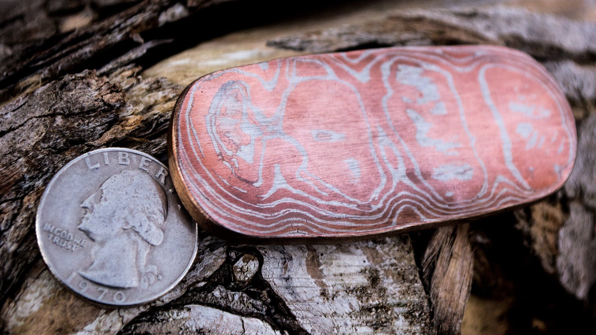 How To Forge Copper and Nickel Mokume Gane With Coins | JEWELRY ...