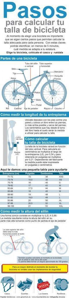 How To Calculate The Height Of A Bicycle Saddle Bicicletas Consejos De Ciclismo Bicicletas Mtb