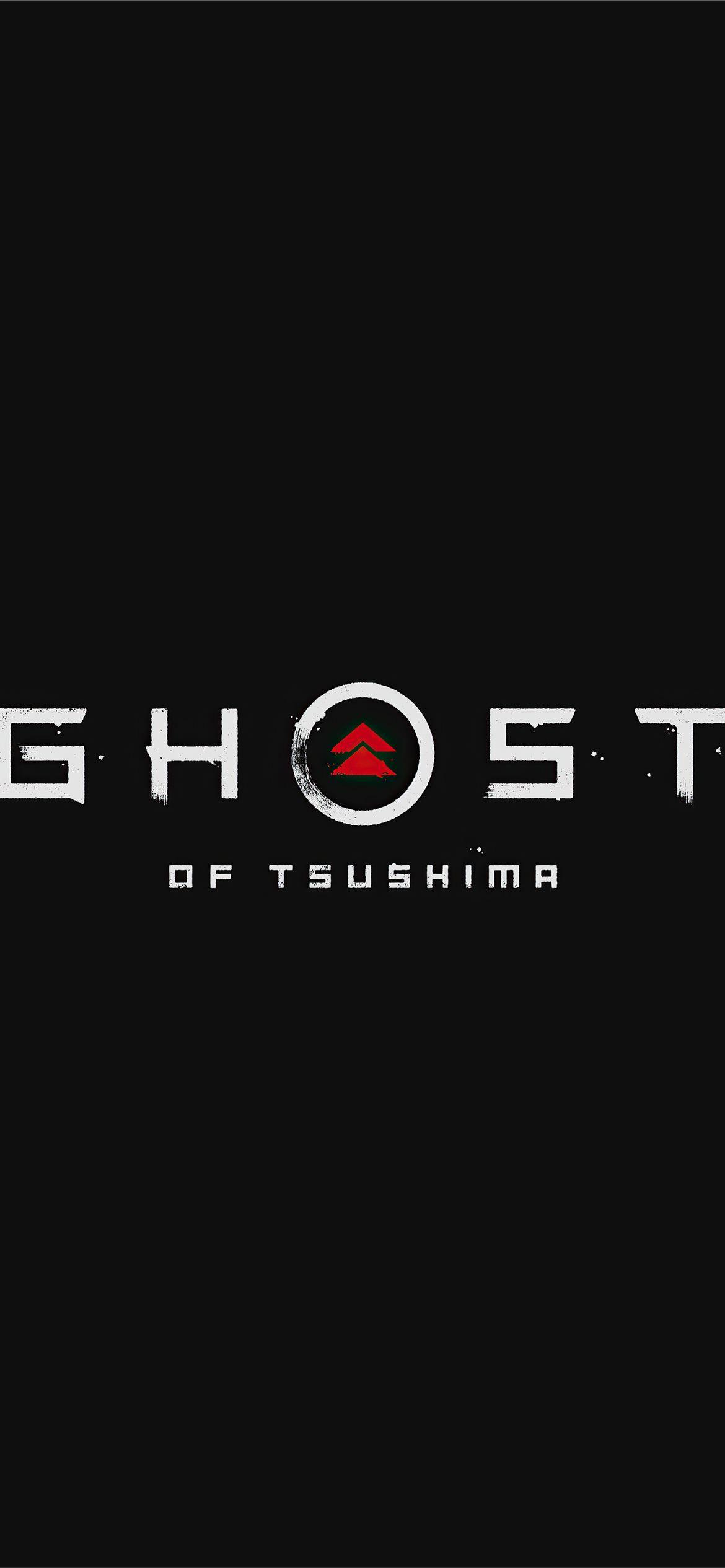 Ghost Of Tsushima Logo 4k Ghostoftsushima 2020games Games 4k Logo Dark Ghost Of Tsushima Tsushima Ghost Iphone 4k ghost of tsushima logo