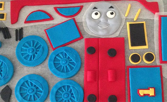 Thomas And Friends Toby Cake Toppers