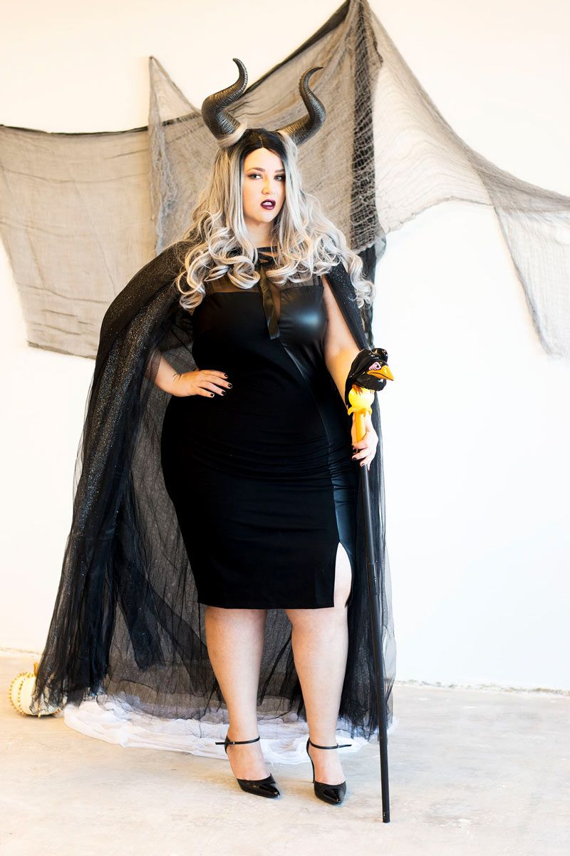 diy plus size costumes for her | plus size woman halloween costume