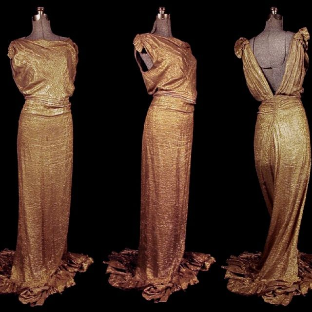 Green Evening Gown Joan Crawford