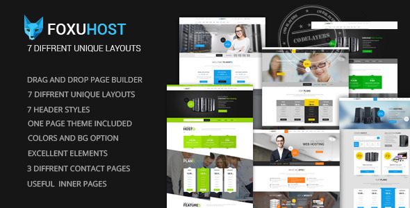 FoxuhHost - Shop, Corporate & Web Hosting WordPress Theme + WHMCS The theme is compatible with latest version of WHMCS (version 6.3) and WHMCS Template is ready to install into your WHMCS area. Here you can see Live Preview of WHMCS Template integrated with Maxhost.