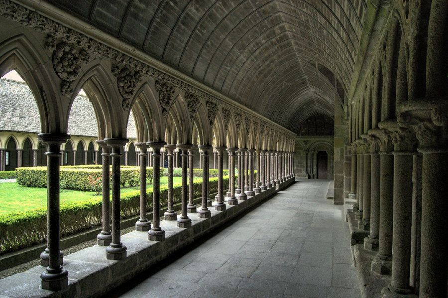 Inside Mont Saint Michel Mont St Michael And Chartre No Pin