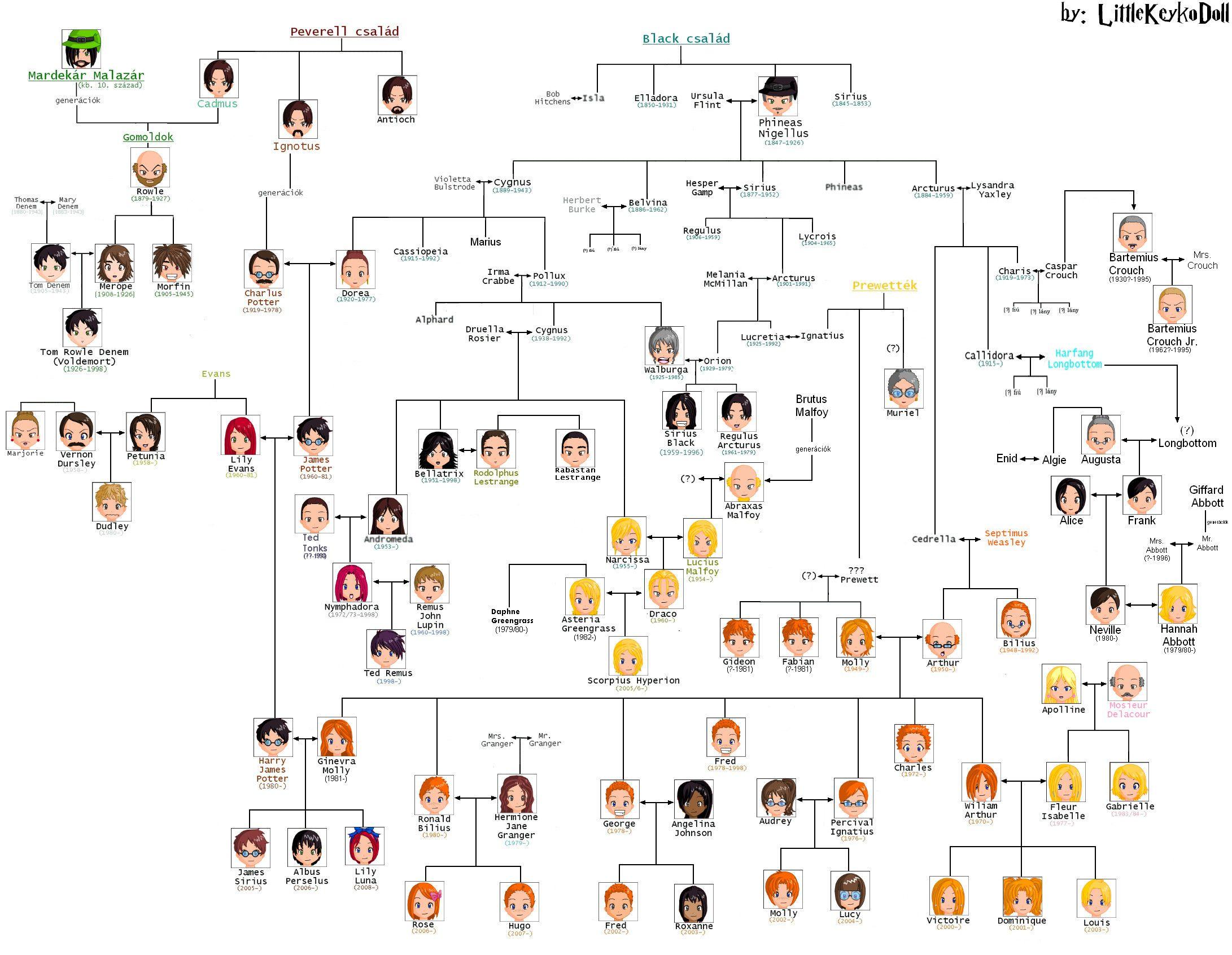 Harry Potter Family Tree Harry Potter Family Tree Harry Potter Universal Harry Potter Memes