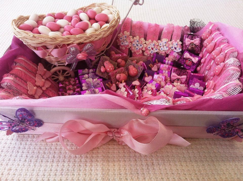 Baby girl chocolate tray baby shower pinterest trays for Baby shower tray decoration