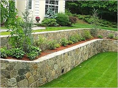 layered retaining wall | Outdoor gardens, Tiered garden ... on Tiered Yard Landscaping id=90551