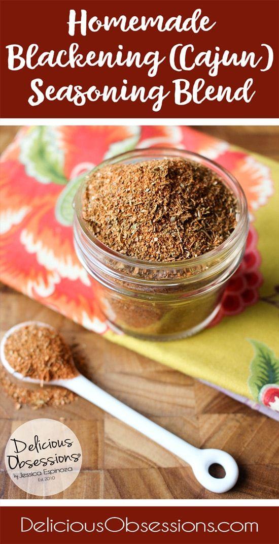 Make Your Own: Homemade Blackening Seasoning Recipe #blackenedchicken