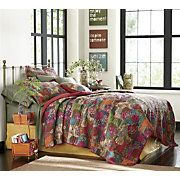 jewel oversized quilt sham and decorative pillow