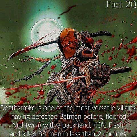 Deathstroke Facts