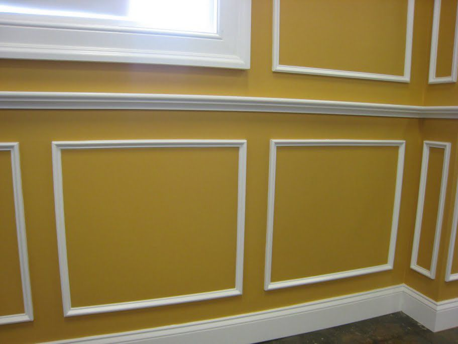 Wainscot Chair Rail With Yellow Walls Ideas, Wainscot Chair Rail With  Yellow Walls Interior Design, Wainscot Chair Rail With Yellow Walls Image  Id 7419 In ...