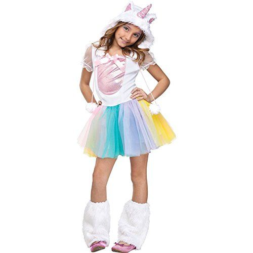 Girls Unicorn Halloween Costume 2014 - This is a real cute costume - halloween ideas girls