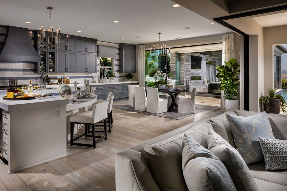 Toll Brothers Open Floor Plan Open Concept Home Home Decor Kitchen Home Decor