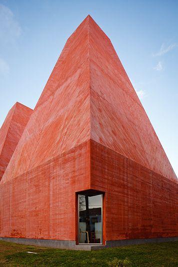 Casa Das Historias Paula Rego Cascais Portugal Architecture Architecture Details Contemporary Architecture